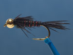 Bead Head Pheasant Tail Nymph, black image