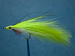 Lefty's Deceiver fly, chartreuse image link.