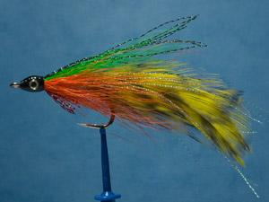 Lefty's deceiver, sunfish fly image.