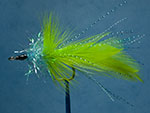 Helm's pike fly, light blue image link