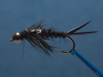 Large bead head stonefly nymph page link