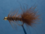 Bead head Wooly Bugger, brown image link