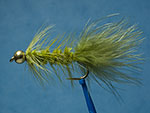 Bead head Wooly bugger, olive image link